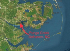 38. 3 Pungo Creek Map